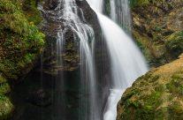Wasserfall in der Vintgarklamm