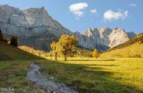 Alpenidyll am Großen Ahornboden