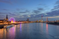 Die Skyline von Düsseldorf