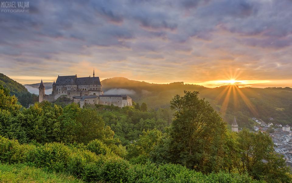 Burg Vianden in Luxemburg