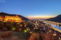 Abends in Heidelberg