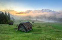 Nebel am Geroldsee