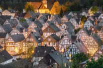 Freudenberg im Siegerland am Abend