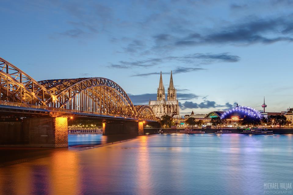 Köln am Abend