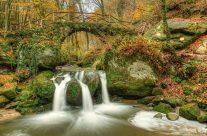 Schiessentümpel Wasserfall in Luxemburg