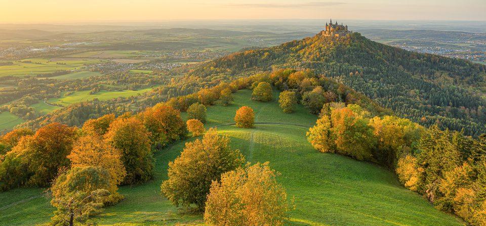 Burg Hohenzollern im Herbst