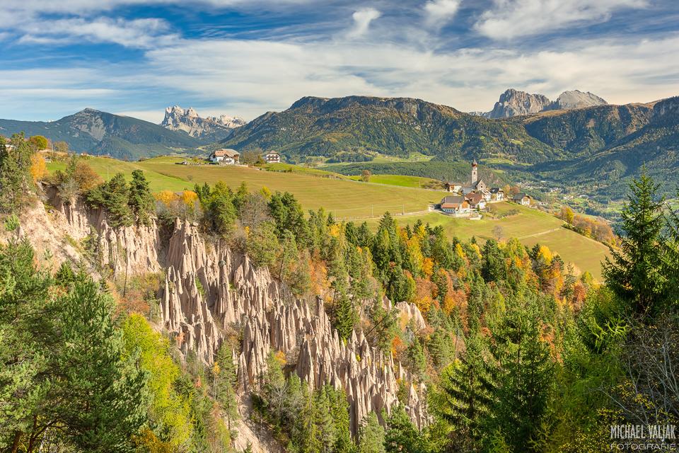 Erdpyramiden bei Bozen in Südtirol