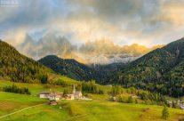 St. Magdalena im Villnösstal in Südtirol