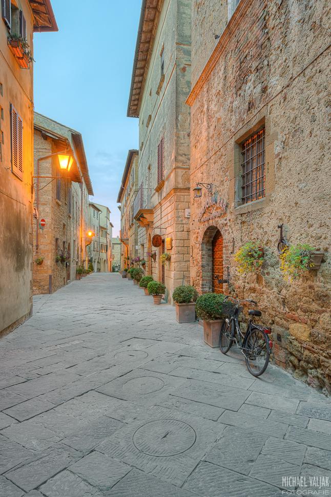 Pienza in der Toskana