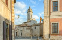 San Quirico d'Orcia in der Toskana
