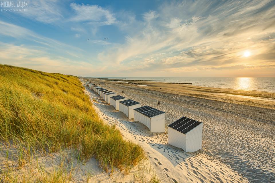 Strandhäuschen in Domburg