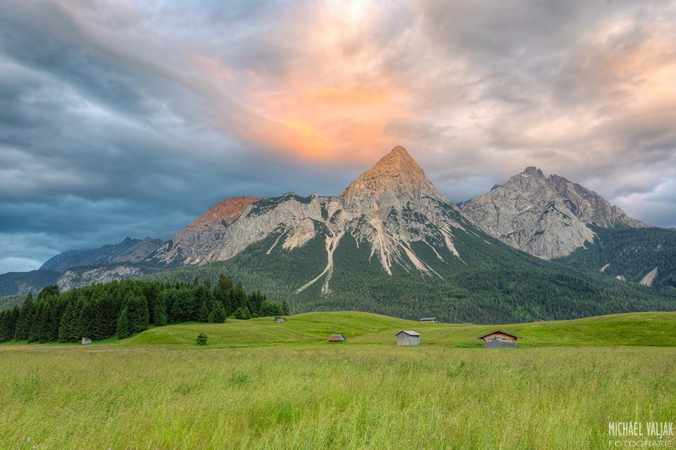 Ehrwalder Sonnenspitze in Österreich