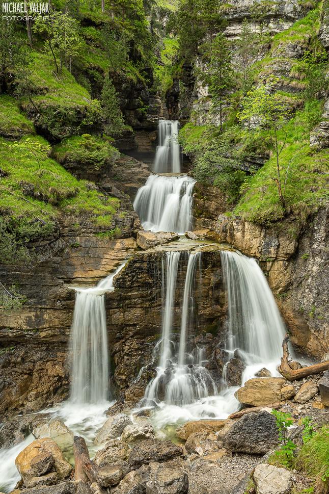 Unterer Kuchfluchtwasserfall