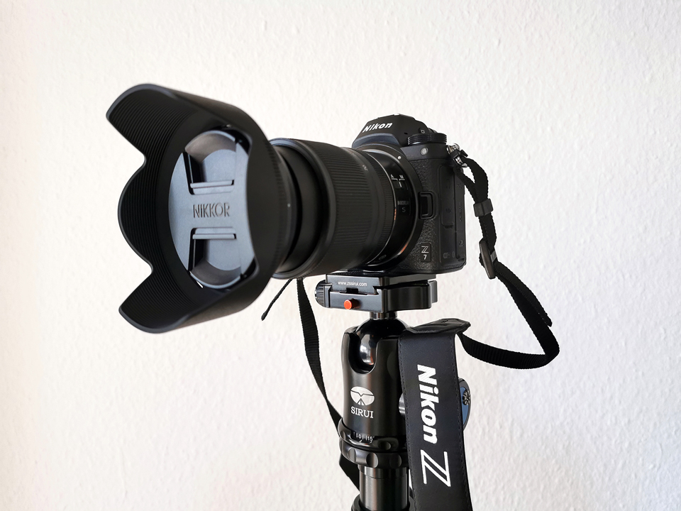 Nikon Z 7 spiegellose Systemkamera mit Vollformatsensor