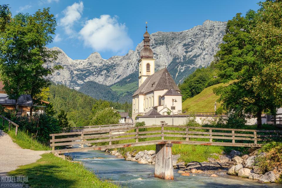 Kirche in Ramsau bei Berchtesgaden