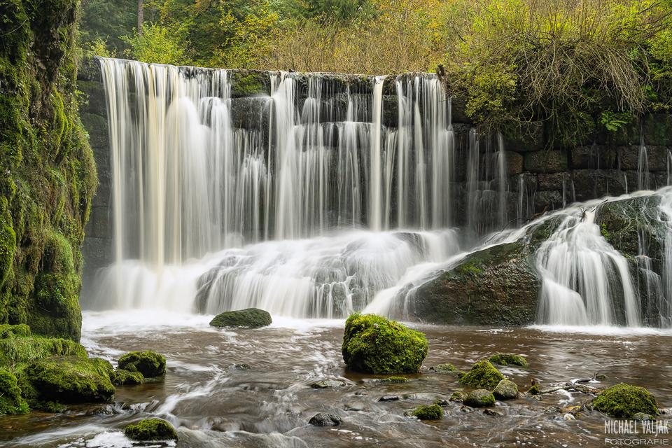Geratser Wasserfall im Allgäu