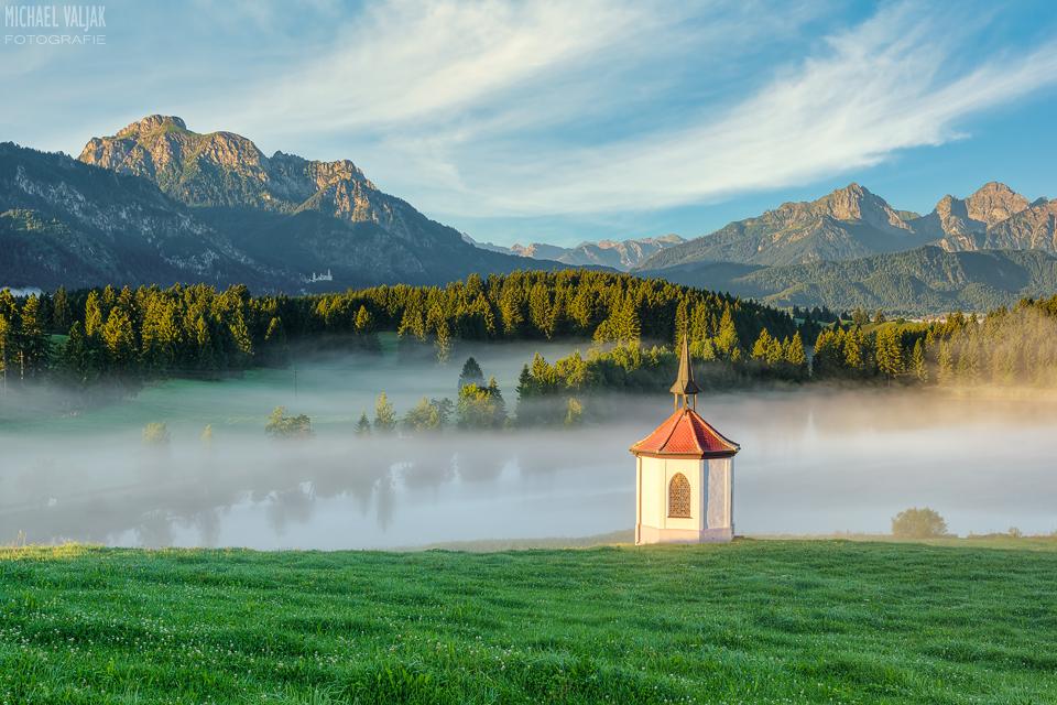 Kapelle am Hergratsrieder See