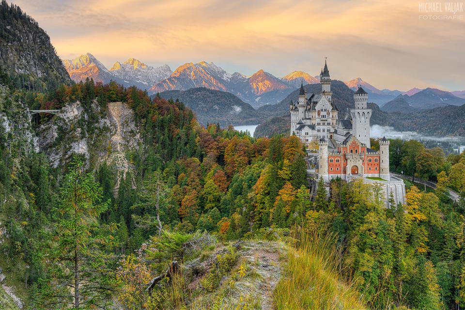 Schloss Neuschwanstein und Marienbrücke