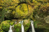 Schiessentümpel Luxemburg im Herbst