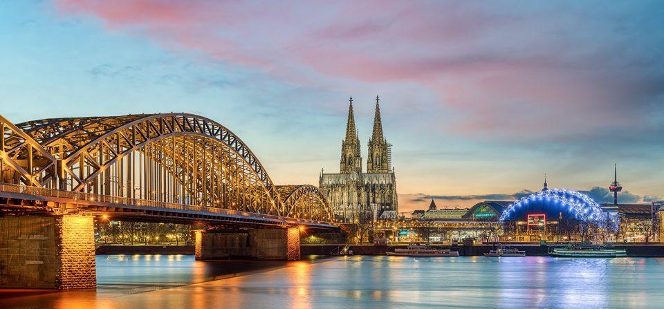Abendstimmung in Köln