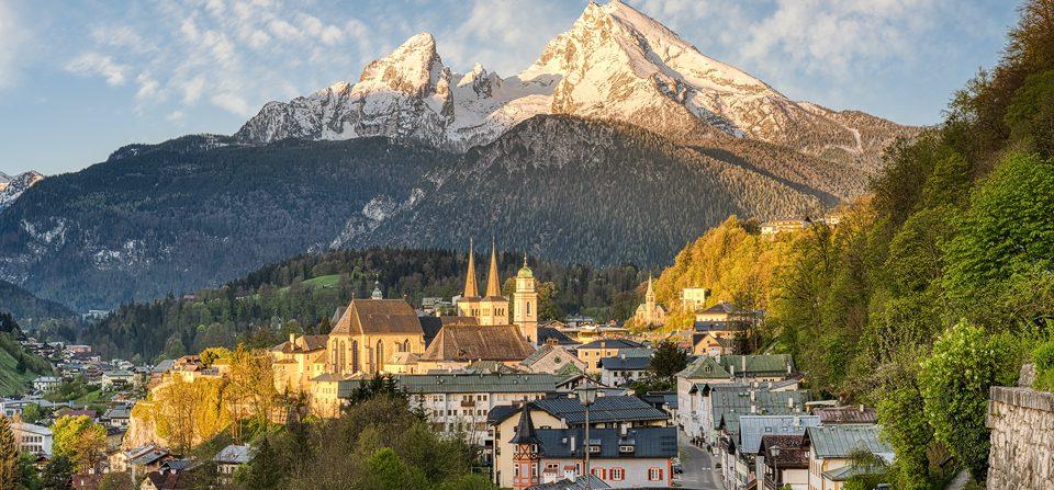 Berchtesgaden am Morgen