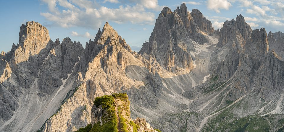 Cadini di Misurina in den Dolomiten